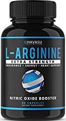 PROMOTES HIGH PERFORMANCE, INCREASED VIGOR, AND INTENSIFIED PUMPS Ideal for athletes and people leading an active lifestyle, L Arginine is essential for building strength and improved overall performance. It supports efficient blood flow, res...