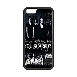 """Creative Asking Alexandria Inspiration Design Solid Rubber Customized Cover Case for iPhone 6 4.7"""" iphone6-linda449"""