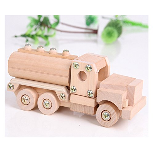 Sala Trend DIY Toy Creative Wooden Truck Building Kit