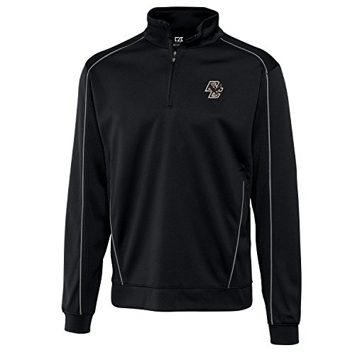 NCAA Boston College Eagles Men's CB Dry Tec Edge Half Zip Apparel, Medium, Black