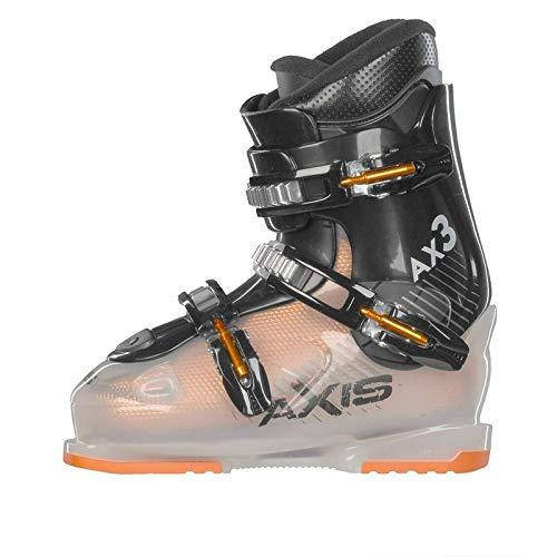 - Axis Outdoors Kids' AX-3 Junior Ski Boots - 25.5 - ORANGE