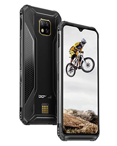 DOOGEE S95 Pro Telefonos Moviles Libres 4G, Helio P90 IP68/IP69K Impermeable Android 9.0 Móviles Todoterreno Resistentes 8GB+128GB, 6,3 Pulgada 5150mAh, 48MP+8MP+8MP, Facial NFC Carga Inalámbrica