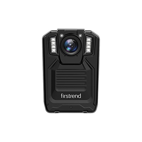 [2018 Newest] Firstrend 1296P HD Body Camera, Portable Police Body Camera with 32GB Memory, Night Vision and IP67 Weatherproof
