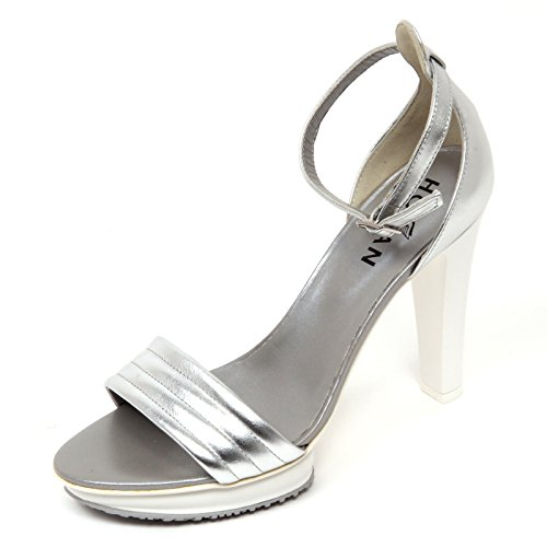 sandal woman shoe D0562 argento H247 sandalo scarpa HOGAN donna Argento YnPp7qZw