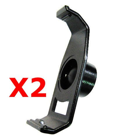 i.Trek replacement bracket holder for Garmin Nuvi 200 205W 250 255 260 265WT 275T 285W (2 pieces) - Garmin Mounting Bracket Gps