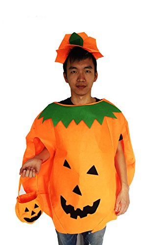 Costume 80's Boys Ideas (Gamlon New Halloween Costume Idea for Adults Pumpkin)