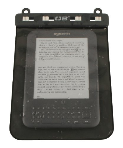 Overboard Waterproof Kindle/eBook Reader Case, Black by Overboard