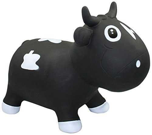 Vital Innovation kfmc130102 – Sauteur Animaux Bella The Cow Noir Vital Innovations