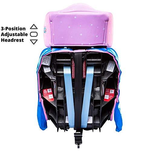 41mt8Kli TL - KidsEmbrace 2-in-1 Harness Booster Car Seat, Disney Princess Cinderella, Pink