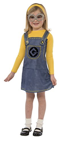 Minions Girl Costume (Minion Costume Dress Set)
