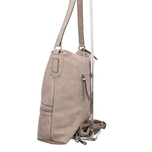 Tamaris PATTY Hobo Bag L Grau