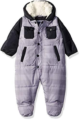 Ben Sherman Baby Boys' Bubble Pram, Grey/Black, 18M