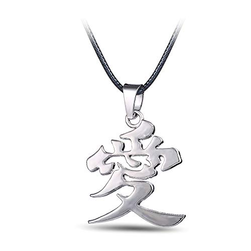 Chinese Symbols For Love (OIVA Naruto Love Symbol Gaara of The Sand Pendant)
