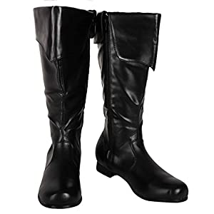 SharpSpirit Cosplay Military Combat Steampunk Mens Boots