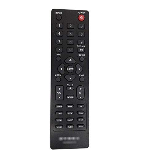 Dynex DX-RC01A-12 DX-RC02A-12 LCD LED TV Remote for DX-32L100A13 DX-26L100A13 and Other TV ()
