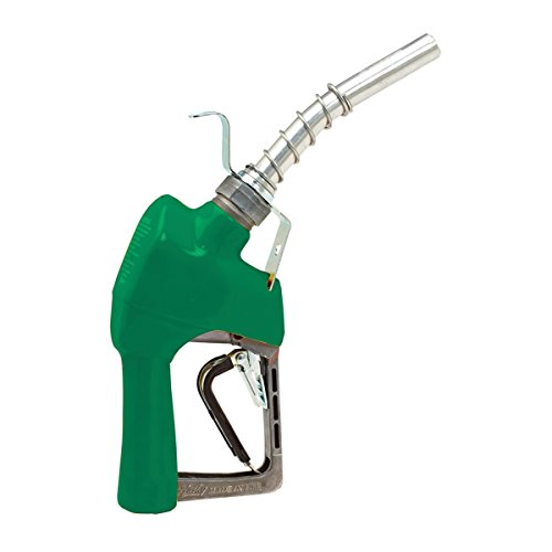 Husky 337003N-03 New XFS Light Duty Diesel Nozzle with 3-Notch Hold Open Clip, Full Grip Guard and Hanging Hook by Husky