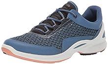 ECCO Women's Biom Fjuel Racer Running Shoe, Retro Blue/Muted Clay, 38 M EU (7-7.5 US)