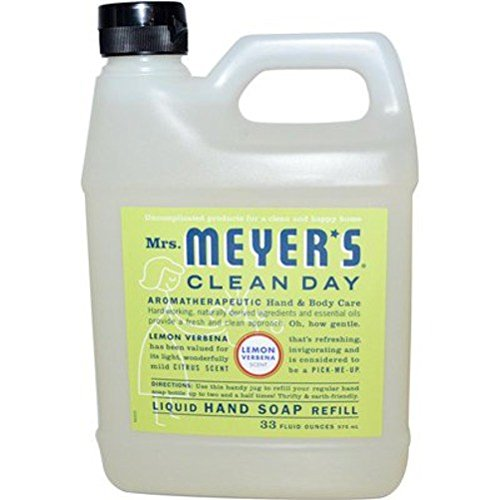 (Mrs. Meyer´s Clean Day Hand Soap, Lemon Verbena (Lemon Verbena Refill))