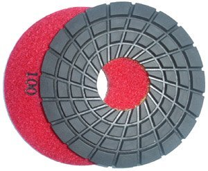Toolocity 7PDR0100 7-Inch Rigid Diamond Polishing Pads, 100 Grit by Toolocity ()