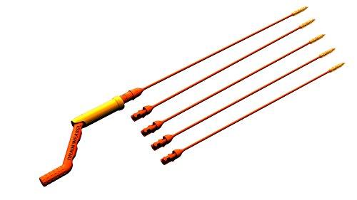 FlexiSnake DWPSK5A  Drain Weasel Hair Clog Tool 6PC Starter Kit