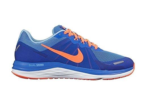 Nike 819318-401, Zapatillas de Trail Running para Mujer Azul (Racer Blue / Bright Mango-Bluecap-White)