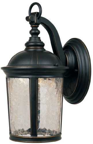 Designers Fountain LED21321-ABP Winston Wall Lanterns, Aged Bronze Patina by Designers Fountain