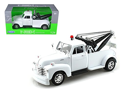 Welly 22086WMJ-WHND 1953 Chevrolet 3800 Tow Truck Plain White 1/24 Diecast Model