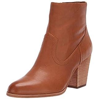 Frye Women's Essa Bootie Ankle Boot, Cognac, 7.5 Medium US