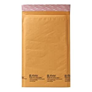 Quality Park Sealed Air Jiffy Lite Cushioned Mailers, Self Seal, #0, 6 x 10 Inches, Pack of 250 (SEL85583)