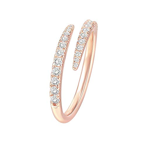 PAVOI 14K Gold Plated Cubic Zirconia...