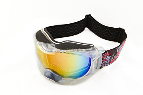 Clear Icicle Helmet Sunglasses Floating Water Jet Ski Goggles Sport Designed for Kite Boarding, Surfer, Kayak, Jetskiing, other water sports.