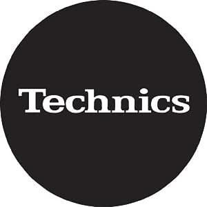 Technics DMC - Turntable Slipmats (1 par) color negro y blanco