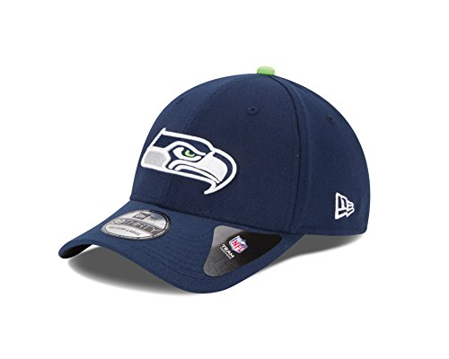 NFL Seattle Seahawks Team Classic 39THIRTY Stretch Fit Cap, Medium/Large, (Seattle Seahawks Team Fan)