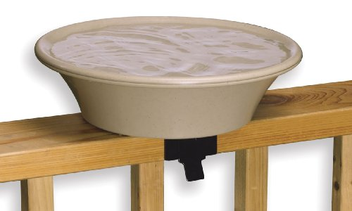 Allied Precision Industries 14B Four Seasons Heated Bird Bath with (Heated Birdbath Deck)