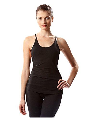 - Freestyle Yoga Tank by Hard Tail (Black, Medium)
