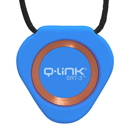 Q-Link Acrylic SRT-3 Pendant (Aura Blue)