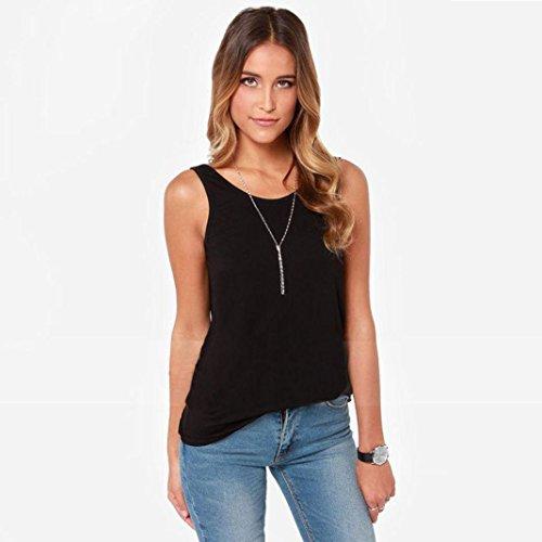 V Women Top lunga T manica Sports Neck casual Black Slim Adeshop Maglietta Deep Backless Bulk shirt dtwqxCq