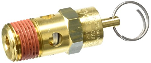 Control Devices ST2533-1A150 St Series Brass Soft Seat Asme Safety Valve 150 Psi Set Pressure 3/8 Male Npt - 150 Psi Safety Valve