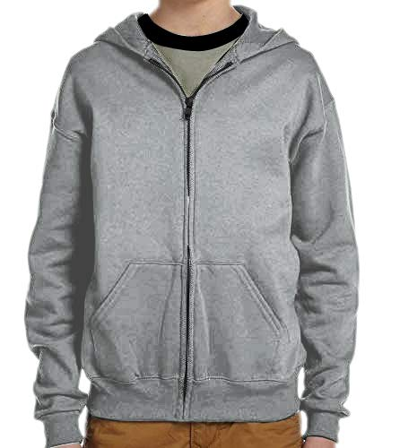 ADBUCKS Unisex Kids Boys & Girls Zip Hoodies Sweatshirt Made by Rich Cotton Full Sleeves Jacket (Lightgrey, 11-12 Years) (B078835YV2) Amazon Price History, Amazon Price Tracker