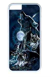 Bark At The Moon Wolf Custom iphone 5C inch Case Cover Polycarbonate White