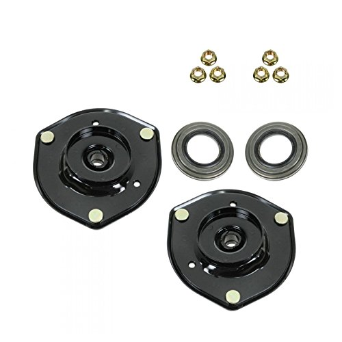 Front Upper Shock Strut Mount Kit Plate Bearing Pair Set of 2 For Camry ES300