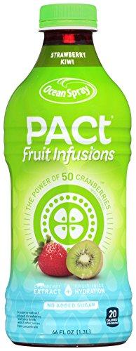 Ocean Spray Pact Fruit Infusions Strawberry Kiwi Juice, 46 oz