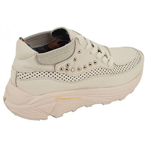 SIDE-P Zapatillas Para Mujer Blanco Bianco