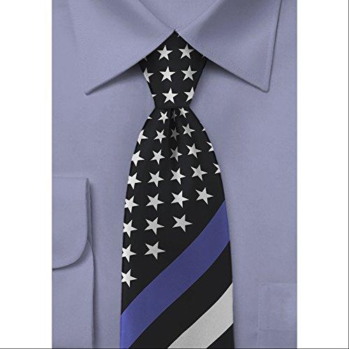 thin-line-necktie-us-flag-blue