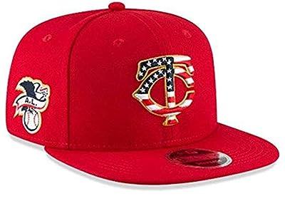 New Era Minnesota Twins 2018 Stars & Stripes 4th of July 950 9FIFTY Snapback Adjustable Cap Hat