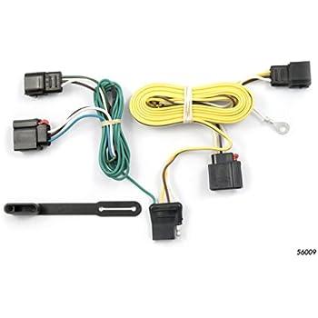 Amazon.com: CURT 55381 Vehicle-Side Custom 4-Pin Trailer ... on