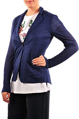 Slub Giacca 313 Wwblz0227 Blz Sb90 W's Donna Blu Jersey Woolrich Yqw4xv1