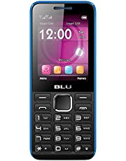 BLU Tank II T193 Unlocked GSM Dual-SIM Cell Phone w/ Camera and 1900 mAh Big Battery - Unlocked Cell Phones - Retail Packaging - Black Blue