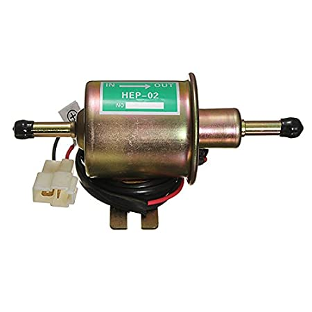Amazon.com: StaiBC 12V Electric Fuel Pump Diesel Petrol 12 Volt ...