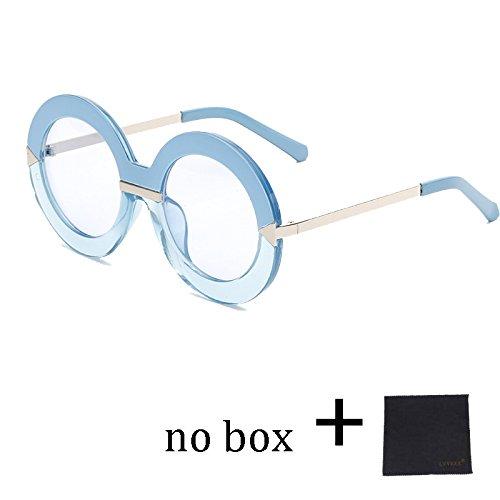 58005C1 Redonda Gafas De Flecha Lujo Vintage 58005C4 Mujer Gafas De De Sol Marco TIANLIANG04 Verano Femenino Clásico De De Sol Gran Gafas x0w8xRq6
